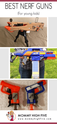 Easy to use Nerf Guns