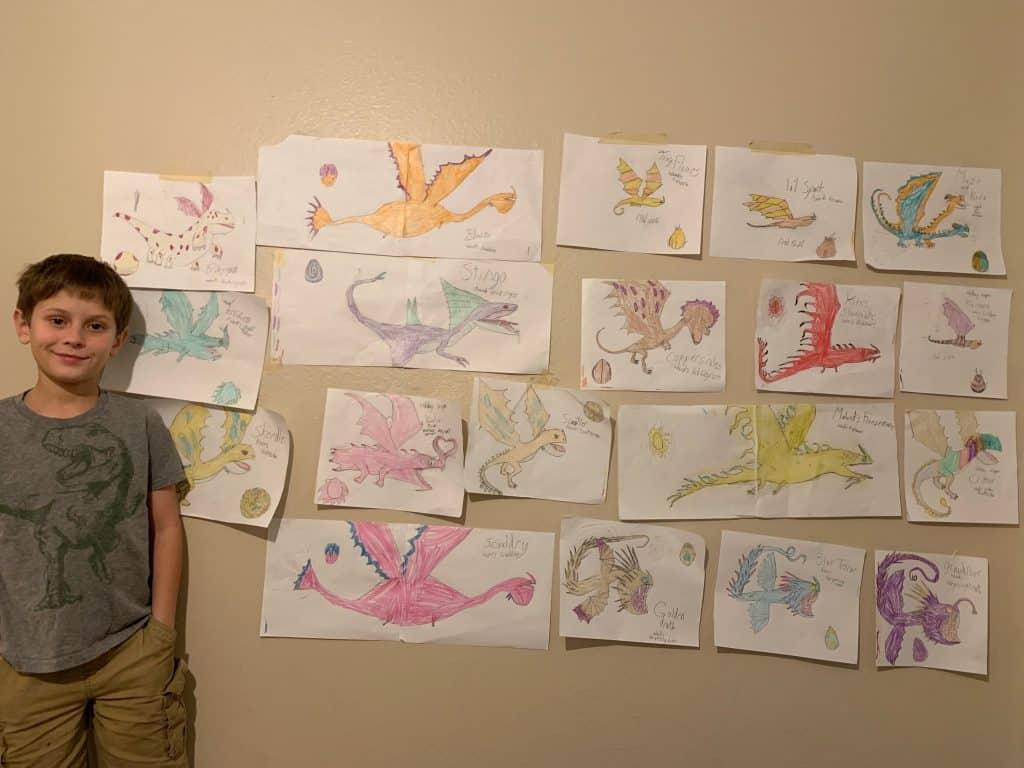 creativity through drawing