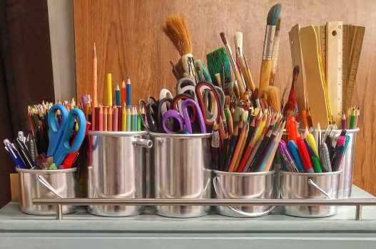 Art supplies for creativity