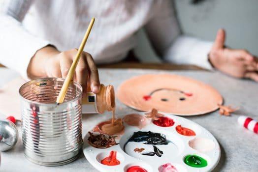 service through art