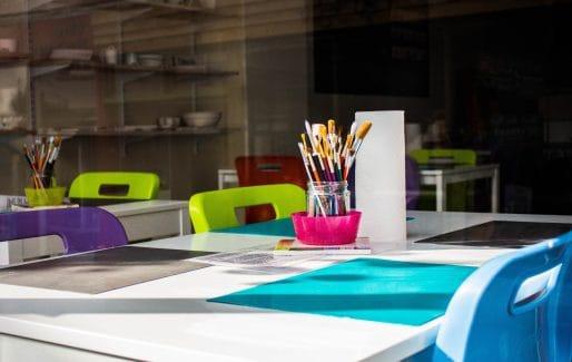 designated art space for creativity