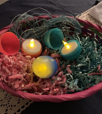 Easter egg lights