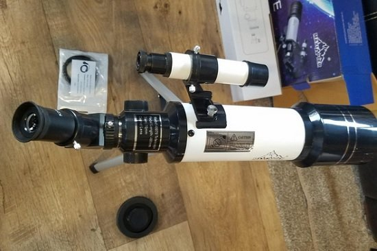 Refractive Telescope for Kids
