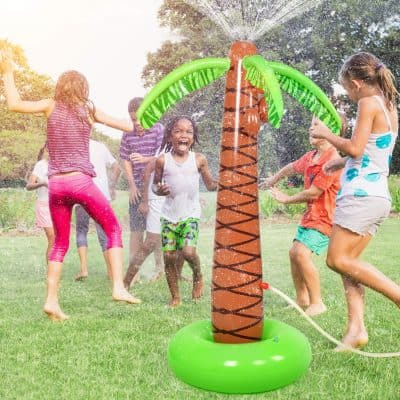 BATTOP Sprinkler Inflatable Palm Tree