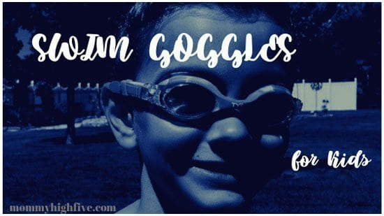 Swim Goggles for Young Kids