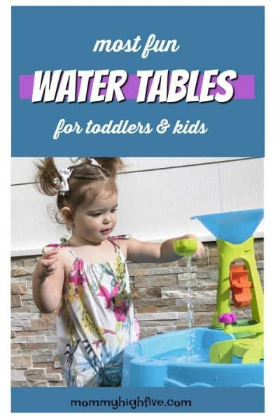 Most Fun Water Tables for Kids