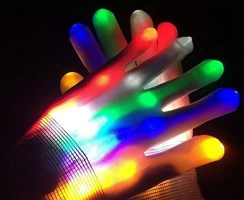 Dreamingbox Children LED Finger Light Gloves