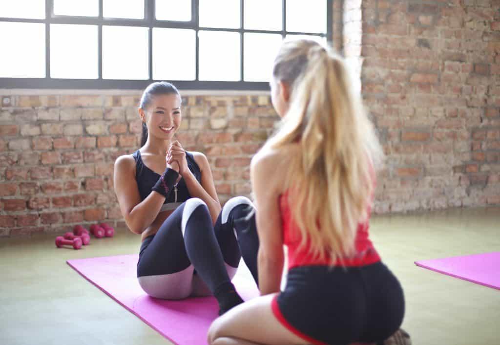 crunches pelvic floor strengthening