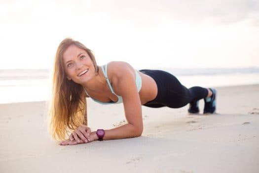 Forearm Plank Pelvic Floor Exercise