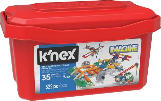 K'NEX Imagine Click & Construct Value Building Set