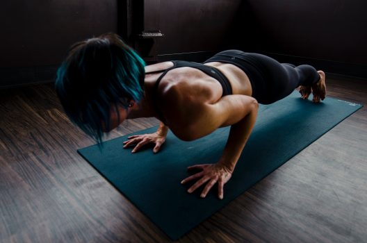 Push ups for women