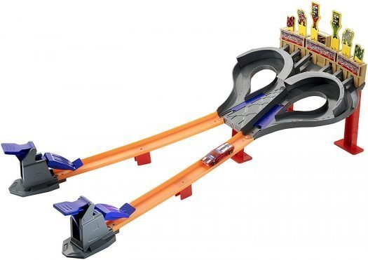 Hot Wheels Super Speedway Blast Track Set