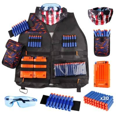 UWANTME NERF Tactical Vest Kit