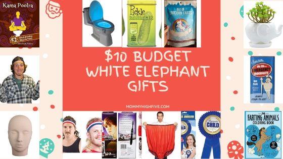 $10 Budget White Elephant Gifts