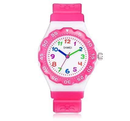 CakCity Waterproof Analog Time Teacher