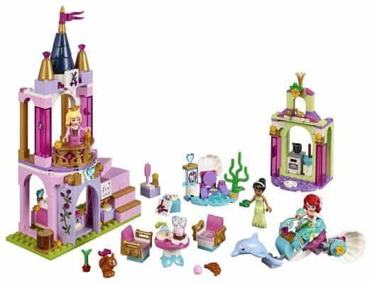 LEGO Disney Aurora, Ariel and Tiana's Royal Celebration Kit