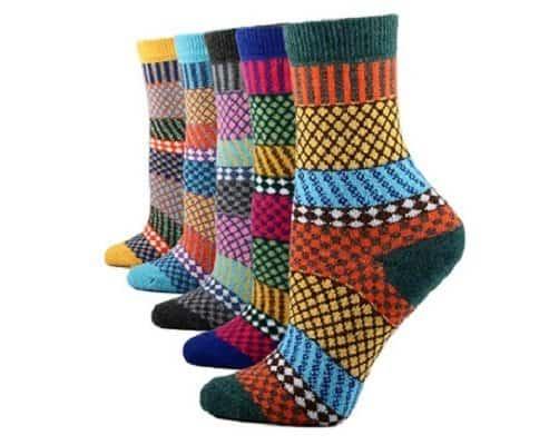 Women's Knit Wool Socks