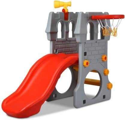 Costzon 4 in 1 Climber Slide Set