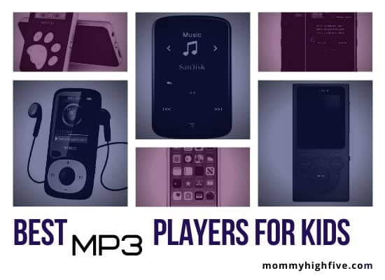 Best MP3 Players for Kids-Mommyhighfive