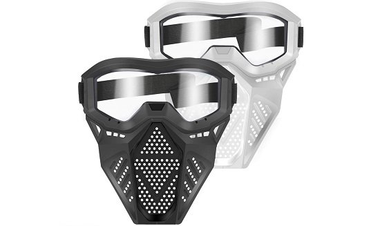POKONBOY 2 Pack Tactical Face Mask