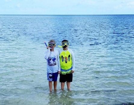 Swim shirts for kids