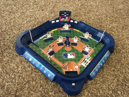 Baseball board game