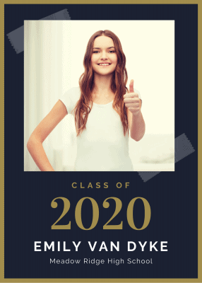 Graduation announcement 2020
