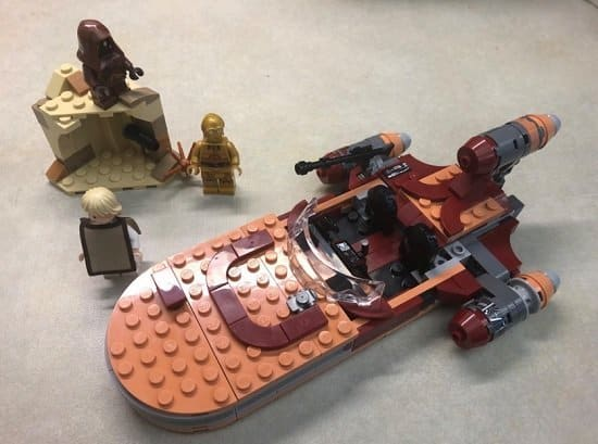 Skywalker's Landspeeder