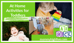 21 Activities for Busy Toddlers During Coronavirus