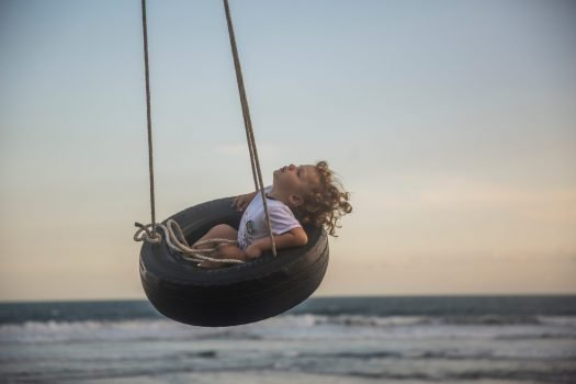 Toddler Tire Swing