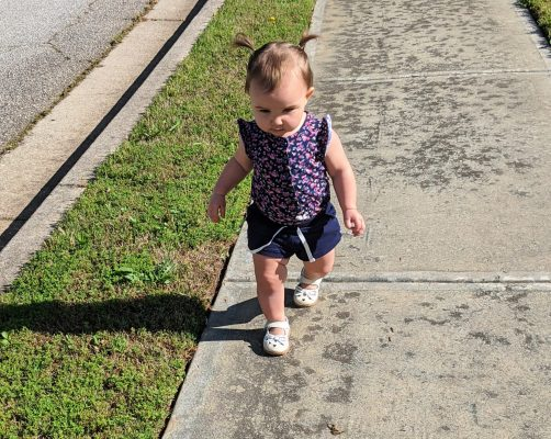 Toddler walking activity