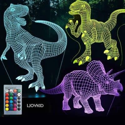 3D Dinosaur Night Light