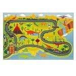 Dinosaur-Safari-Road-Map-Rug