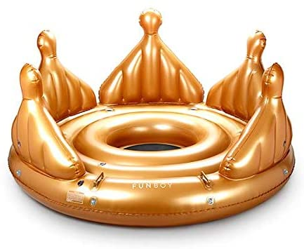 FUNBOY Giant Crown Raft
