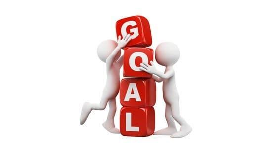 Goal setting blocks