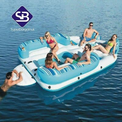 Hydro-Force Inflatable Island