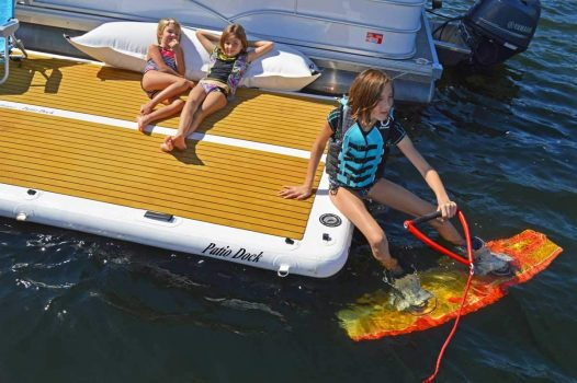 Island Hopper Inflatable Dock