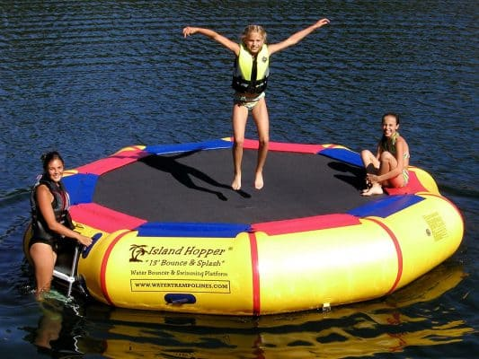 Island Hopper Water Bouncer