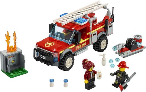 LEGO City Fire Chief Truck