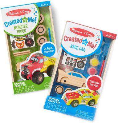 Melissa & Doug Race Car and Monster Truck Craft