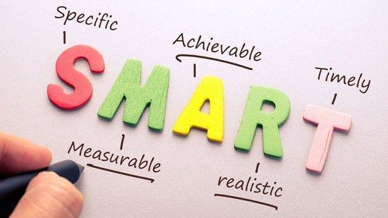 SMART goal method for kids