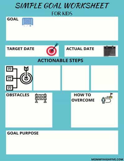 Simple-Goal-Worksheet-Printable