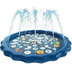 QPAU Splash Play Mat and Pool