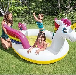 Solstice Inflatable Unicorn Spray Pool