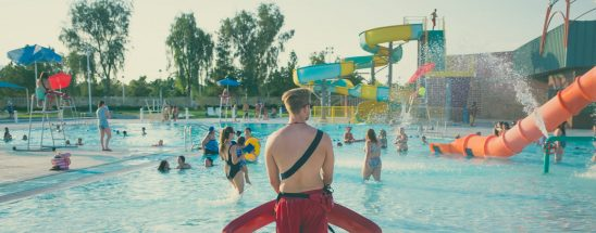 Pool lifeguard safety