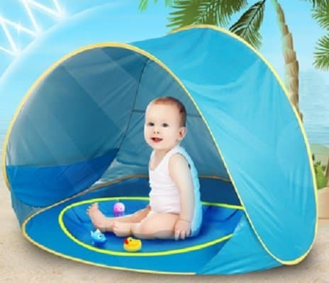 Baby Sun Shelter with Pool