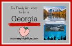 Fun Family Activities in Atlanta and around Georgia