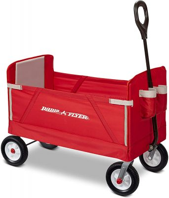 Radio Flyer All-Terrain 3-in-1 EZ Folding Wagon