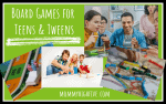 25 Best Board Games for Teens and Tweens