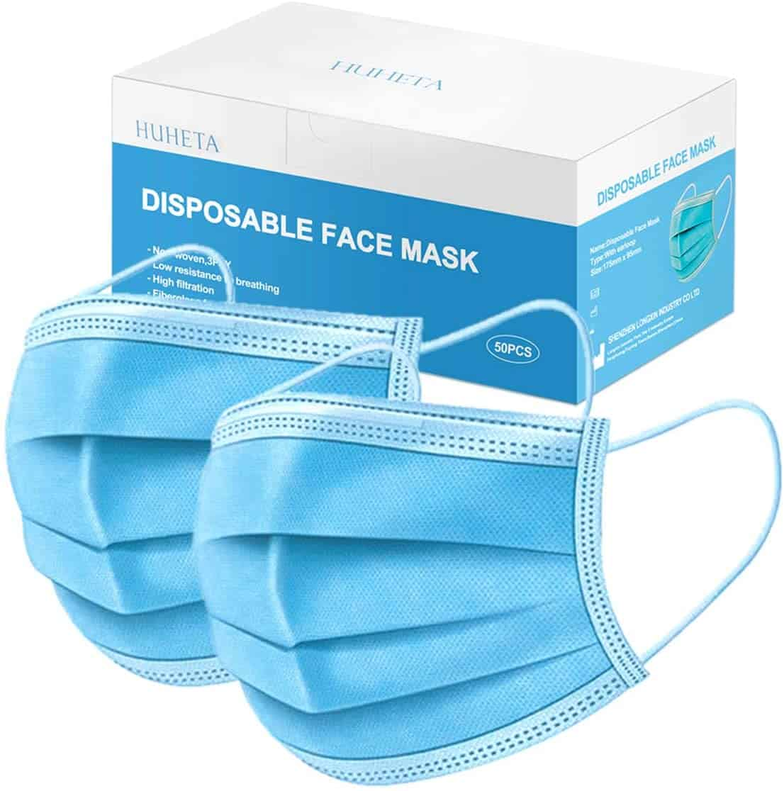 Huheta Disposable Masks